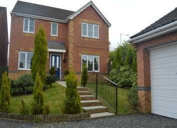 Thumbnail 4 bed detached house to rent in Primrose Drive, Shildon