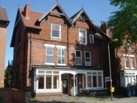 Thumbnail 1 bed flat to rent in Flat 3 29, Fox Road, West Bridgford