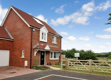 Thumbnail 4 bed detached house for sale in Aller Mead Way, Williton, Taunton