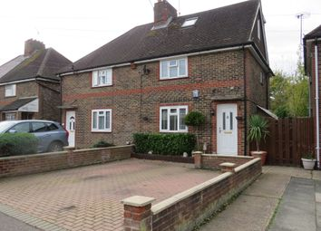 Thumbnail 4 bed semi-detached house for sale in Ifield Road, West Green, Crawley
