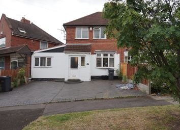 Thumbnail 4 bed semi-detached house for sale in Thornbridge Avenue, Great Barr, Birmingham