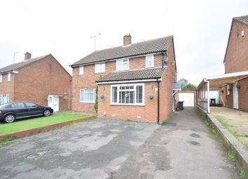 Thumbnail 2 bedroom semi-detached house for sale in Wellfield Avenue, Luton