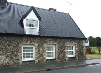 Thumbnail 2 bed semi-detached house for sale in Worlington, Bury St Edmunds, Suffolk