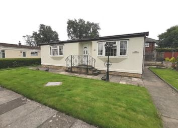 Thumbnail 2 bed mobile/park home for sale in The Avenue, Wyre Vale Park, Garstang, Lancashire