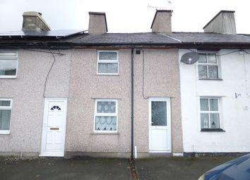 Thumbnail 1 bed terraced house for sale in Treddafydd, Penygroes, Caernarfon, Gwynedd