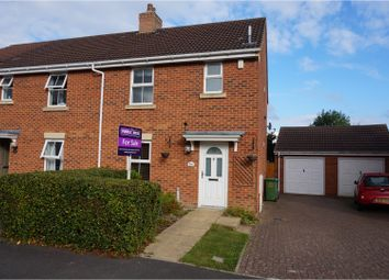 Thumbnail 3 bed semi-detached house for sale in Jellicoe Avenue, Stoke Park