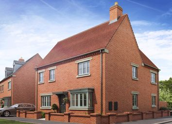 "Thumbnail 4 bedroom detached house for sale in ""Alnwick"" at Halse Road, Brackley"