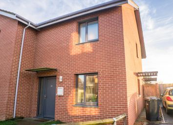 Thumbnail 2 bed semi-detached house for sale in Birdbeck Drive, Outwell, Wisbech, Cambs