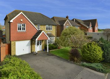 Thumbnail 4 bed detached house for sale in Bramley Gardens, Broomfield, Herne Bay, Kent