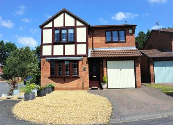 Thumbnail 3 bed detached house for sale in Woodbridge Close, Walsall