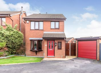 Thumbnail 3 bed detached house for sale in White Bark Close, Hednesford, Cannock