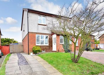 Thumbnail 3 bed semi-detached house for sale in Freshwater Road, Walderslade, Chatham, Kent