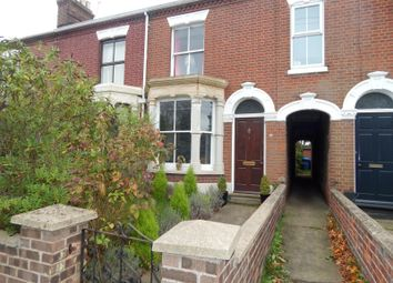 Thumbnail 3 bedroom terraced house to rent in Unthank Road, Norwich