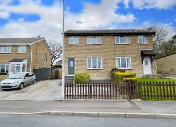 Thumbnail 3 bed semi-detached house for sale in The Spinney, Brackla, Bridgend