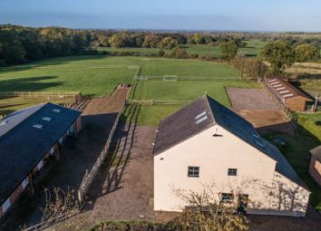 Thumbnail 5 bed barn conversion for sale in Bleeding Wolf Lane, Scholar Green, Cheshire