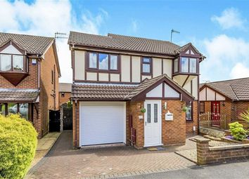 Thumbnail 4 bed detached house for sale in Woodruff Close, Packmoor, Stoke-On-Trent
