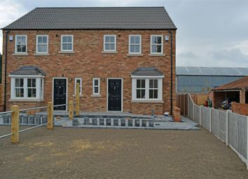 Thumbnail 3 bed semi-detached house for sale in Commonside, Crowle, Crowle