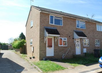 Thumbnail 2 bed end terrace house to rent in Keats Close, Thetford