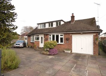 Thumbnail 4 bedroom detached bungalow for sale in Larch Avenue, Macclesfield, Cheshire