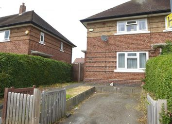 Thumbnail End terrace house for sale in Bangor Street, Chaddesden, Derby