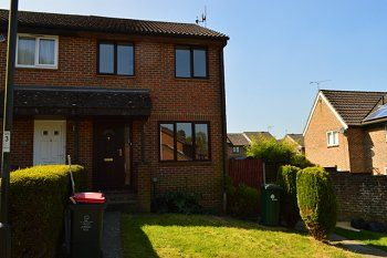Thumbnail 3 bed end terrace house to rent in Chevening Close, Tollgate Hill, Crawley