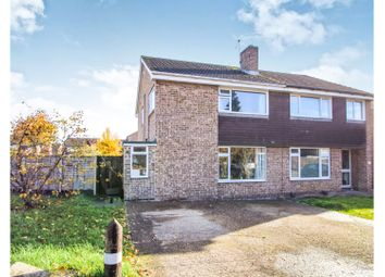 Thumbnail 3 bed semi-detached house for sale in Cooper Close, Cropwell Bishop