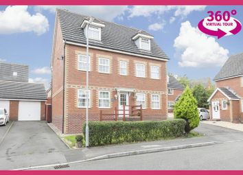 Thumbnail 5 bed detached house for sale in Builth Close, Coedkernew, Newport