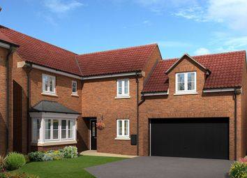 "Thumbnail 4 bed detached house for sale in ""The Linton"" at Amos Drive, Pocklington, York"