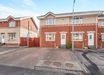 Thumbnail 3 bed end terrace house for sale in Nursery Gardens, Kilmarnock