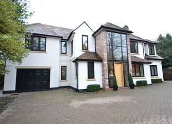 Thumbnail 5 bed detached house to rent in Hawthorn Lane, Wilmslow