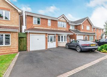 Thumbnail 4 bed detached house for sale in Sherlock Close, Willenhall, West Midlands