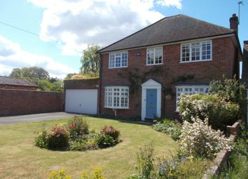 Thumbnail 4 bedroom detached house for sale in School Road, Riseley, Reading