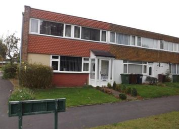 Thumbnail 3 bed end terrace house for sale in Ansley Way, Solihull, West Midlands