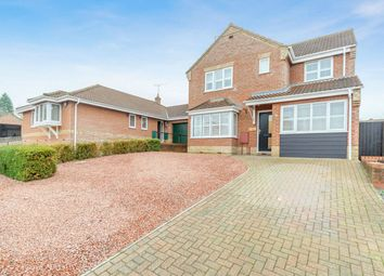 Thumbnail 4 bedroom detached house for sale in Kingfisher Close, Fakenham