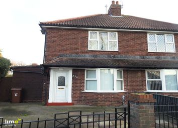 Thumbnail 2 bedroom terraced house to rent in Wingfield Road, Hull