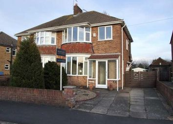Thumbnail 3 bed semi-detached house to rent in Cleveland Road, Loughborough