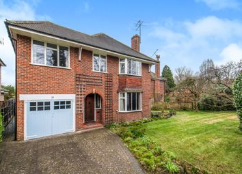 Thumbnail 4 bed detached house for sale in Orchard Drive, Woking, Surrey