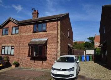 Thumbnail 2 bed semi-detached house for sale in Castle Park, Aldbrough, East Yorkshire