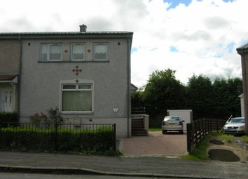 Thumbnail 3 bed end terrace house for sale in St Catherines Crescent, Shotts