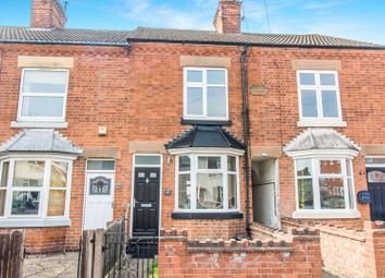 Thumbnail 2 bed terraced house for sale in Harcourt Road, Wigston