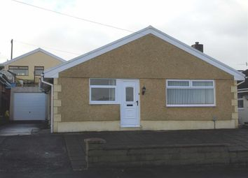 Thumbnail 2 bed detached bungalow for sale in Telyn Aur, Morriston, Swansea