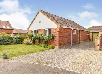 Thumbnail 2 bed detached bungalow for sale in Ringwood Close, Little Melton, Norwich