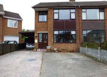 Thumbnail 3 bed semi-detached house for sale in Blenheim Drive, Thornton-Cleveleys