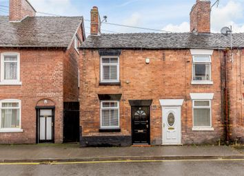 Thumbnail 1 bed end terrace house for sale in Queen Street, Cheadle, Stoke-On-Trent
