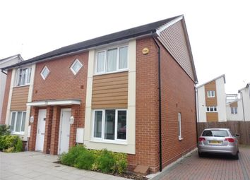 Thumbnail 2 bed semi-detached house to rent in Hattersley Way, Leicester