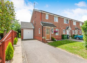 Thumbnail 3 bed end terrace house for sale in Ferndale, Yaxley, Peterborough
