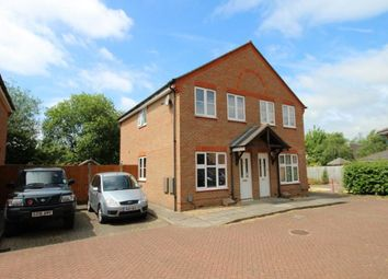 Thumbnail 2 bed semi-detached house to rent in Holt Row, Bedford