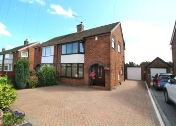 Thumbnail 3 bed semi-detached house for sale in Valley Road, Weston Coyney, Stoke-On-Trent