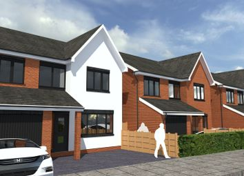 Thumbnail 4 bed detached house for sale in Pineview, Coton Park, Linton, Swadlincote