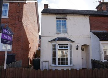 Thumbnail 2 bed end terrace house for sale in Gladstone Road, Ashford